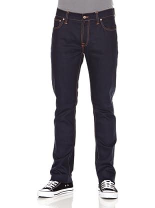 Nudie Jeans Pantalón Thin Finn (Azul oscuro)