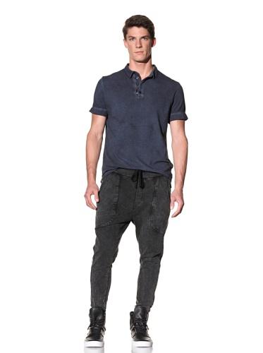 Rogue Men's Sublime Short Sleeve Polo (Navy)