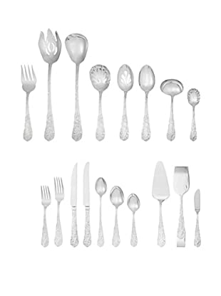 Reed & Barton Flora 95-Piece Flatware Set