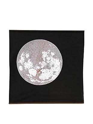 Danese Lienzo Carta Della Luna Gris/Negro