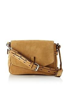Gryson Women's Ellie Solid Belted Small Shoulder Bag (Blonde)
