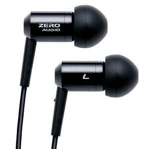 ZERO AUDIO インナーイヤーステレオヘッドホン ブラック ZH-BX500-BK