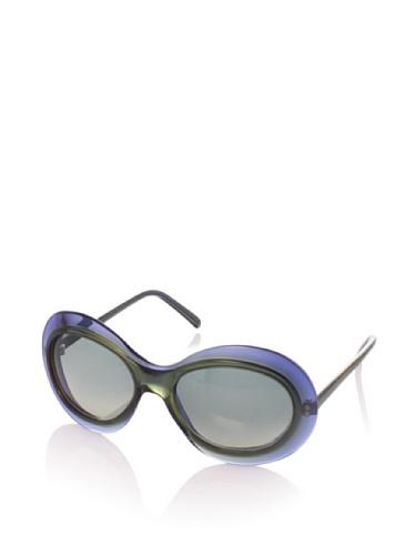 MARNI Women's MA121S Sunglasses, Grey/Mustard