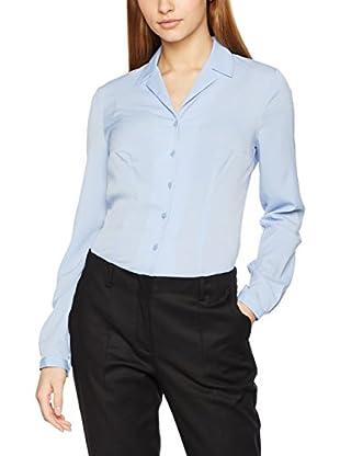 Nife Camisa Mujer Azul Claro L (EU 40)