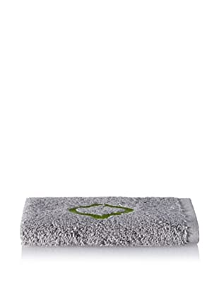 Anali Tangier Wash Cloth, Green/Grey