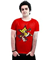 Incynk Men's T-Shirt - MSS128 (Red)