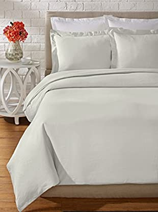 Mélange Home Prewashed Hemstitch Duvet Set