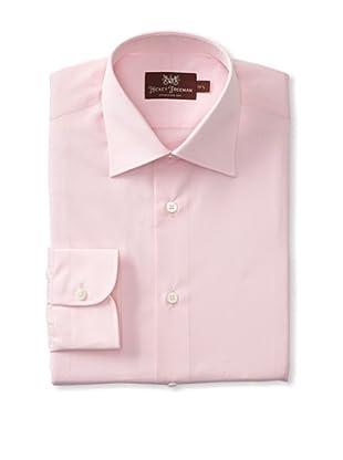Hickey Freeman Men's Dress Shirt (Pink)