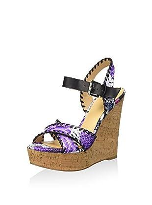 Bata 7616527 Sandali con cinturino alla caviglia, Donna, Nero, 36