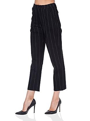 Tantra Pantalone Pinstriped straight-leg