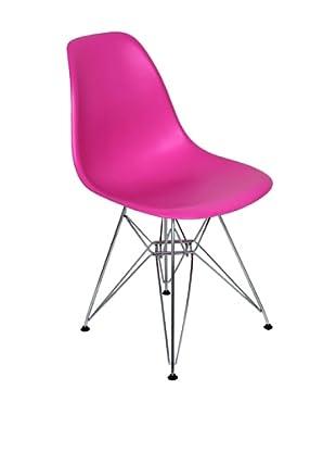 Stilnovo Mid-Century Eiffel Dining Chair, Pink
