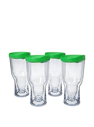 AdNArt Set of 4 Brew to Go (Green)