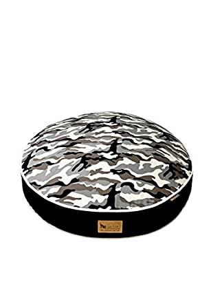 P.L.A.Y. Round Bed (Black/Camouflage)