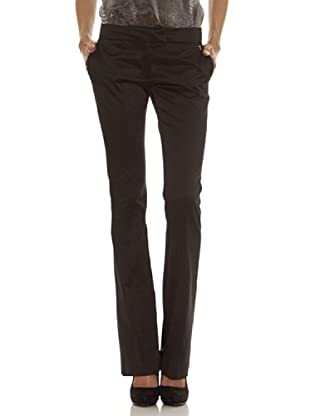 Trussardi Pantalón Básico Con Laterales (negro)