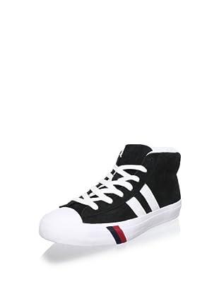 PRO-Keds Men's Royal Master Mid Fashion Sneaker (Black)