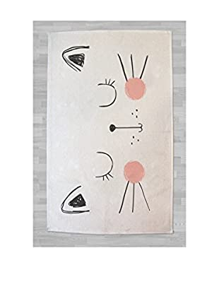 LITTLE NICE THINGS Alfombra Little Cat 90 x 140 cm