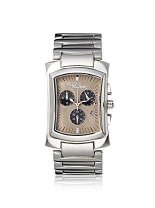 Roberto Cavalli Men's R7253900045 RC TOMAHAWK Silver/Tan Stainless Steel Watch