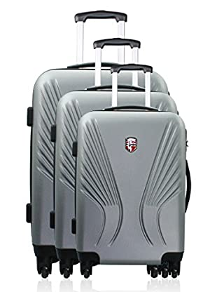 Geographical Norway Set Trolley Seattle (Plata)