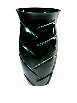 FusionZ Vanity Cut Vase (Green/Black)