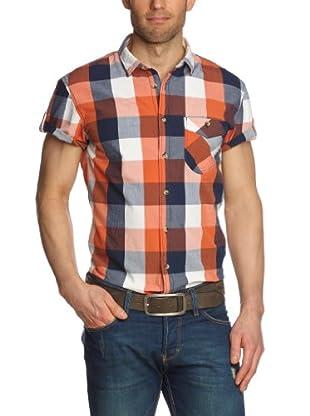 Tom Tailor Camisa Brugnera (Naranja)