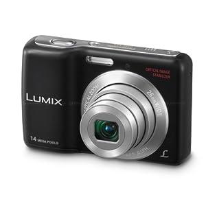Panasonic Lumix DMC-LS5GW-K 14.1MP Point-and-Shoot Digital Camera (Black) with SD Card, Carry Case