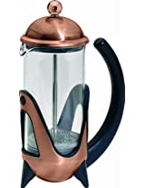 G&H Tea Services 4-Cup Shanghai West Tea and Coffee Press Pot, Copper