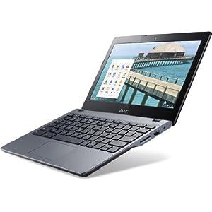 Acer Cromebook C720-2848 11.6-inch Laptop (Celeron/16/Chrome/Integrated HD Graphics), Grey/Black