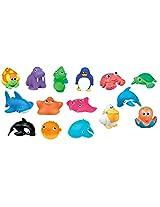 Munchkin Squirtin Bath Toy, Deep Sea Pals