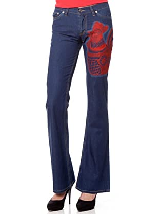 Custo Barcelona Jeans Washed (Blau/Rot)
