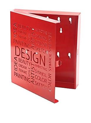Mimma Schlüsselboard Design rot