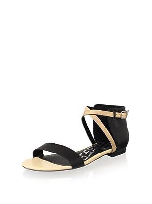 Kelsi Dagger Women's Kacie Sandal (Black/Beige)