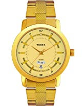 Timex Classics Analog Beige Dial Men's Watch - G909