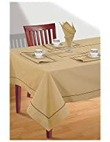 SWAYAM Cotton 10 Piece Kitchen Linen Set - Oatmeal Beige