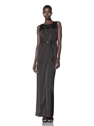 Improvd Women's Sabine Sleeveless Wrap Dress (Black)