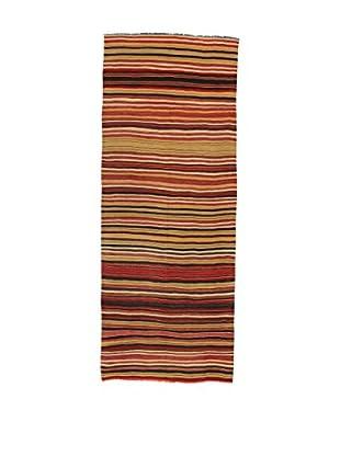 Design Community By Loomier Teppich Kilim Caucasico mehrfarbig 132 x 334 cm