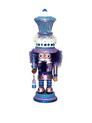 Kurt Adler Purple and Blue Hollywood Nutcracker