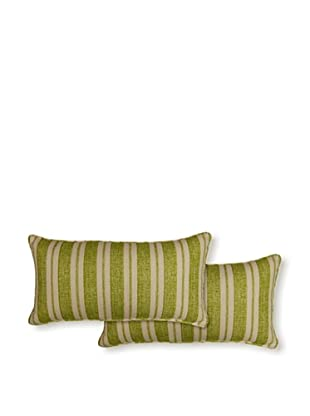 Dakota Set of 2 Borderline Pillows (Grass)