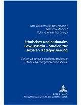 Ethnisches Und Nationales Bewusstsein Studien Zur Sozialen Kategorisierung- Coscienza Etnica E Coscienza Nazionale Studi Sulla Categorizzazione ... - Studi Sulla Categorizzazione Sociale