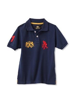 Sher Singh Boy's Classic Polo (Navy)