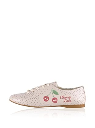 Dogo Oxford Cherry Love (Creme)