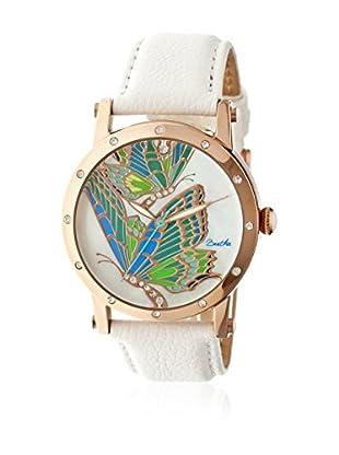 Bertha Uhr mit Japanischem Quarzuhrwerk Isabella weiß 41 mm