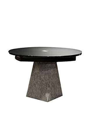 Star International Boa Extension Dining Table, Black/Grey/Tan