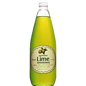【クリックで詳細表示】サントリー ライム 780ml: 食品・飲料・お酒 通販