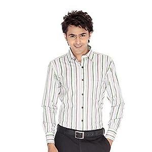Erato Green Men Formal Shirt Menscotton007