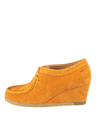 Clarks Yarra Bee 20349556, Scarpe basse donna (Arancione (Orange (Apricot)))
