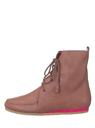 flip*flop 20515 - Botas de cuero para mujer (Marrón)