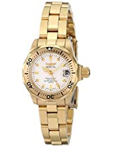 Invicta Women's 8945 Pro Diver Collection Gold-Tone Watch