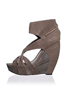 Joe's Jeans Women's Gavin Wedge Sandal (Brown)