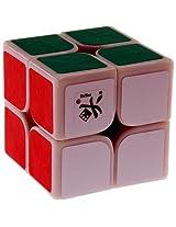 DaYan 2x2 46mm Speed Cube White Base