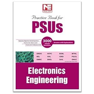 PSUs: Electronics Engineering Practice book: Practice Book For Electronics Engineering